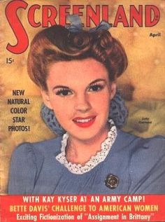 Judy on Screenland cover (April 1943)