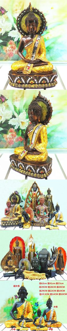 Southeast Asian style retro crafts home decorations town house from evil spirits statues Thai Buddha head decoration ornaments $286