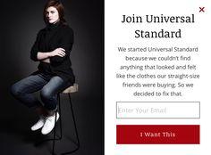Universal Standard: copy