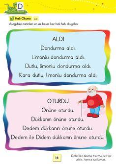 1. Sınıf Konu Anlatım SES FASİKÜLLERİ Learn Turkish, Learning Arabic, Grade 1, Learn English, Mathematics, Preschool, Language, Education, Homework