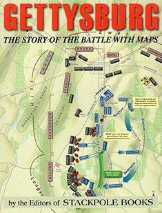 Gettysburg Map, Gettysburg Battlefield, Battlefield 1, Books To Read Online, Reading Online, Read Books, American Civil War, American History, Real Haunted Houses