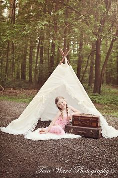 lace teepee tent photo prop by SugarShacksTeepee on Etsy, $100.00