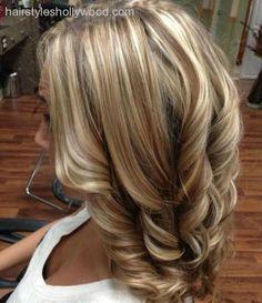 blonde highlights - Buscar con Google