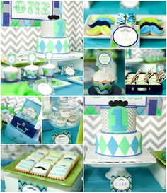 Little Man Mustache Bash Full of REALLY CUTE Ideas via Kara's Party Ideas | Kara'sPartyIdeas.com