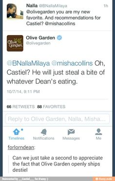 Olive Garden is now officially my fave restaurant.