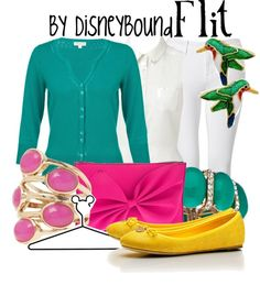 DisneyBound is meant to be inspiration for you to pull together your own outfits which work for your body and wallet whether from your closet or local mall. As to Disney artwork/properties: ©Disney Disney Bound Outfits, Disney Inspired Outfits, Themed Outfits, Disney Dresses, Disney Style, Disney Clothes, Disneyland Outfits, Disneyland Trip, Disney Disney
