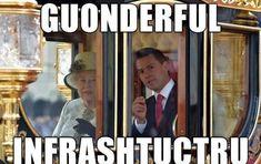 <b>La reina Isabel II recibió al presidente mexicano en el palacio de Buckingham en Londres, donde se quedará hasta el jueves.</b> Y así fue como los mexicanos reaccionaron en las redes sociales ante la visita de Estado.