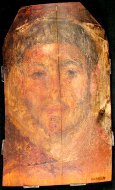 Mummy Portrait UC36348 -The Petrie Museum of Egyptian Archaeology, London.