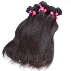 Wholesale 10 Pcs Hair Bundles Hot Queen Hair Product Brazilian Unprocessed Remy Human Hair Weave 6A Virgin Hair Straight 1b UK www.hotqueenhair.com