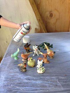 Vintage Salt and Pepper Shaker Project!