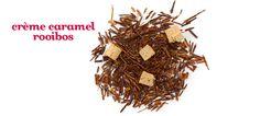 DAVIDsTea - Creme Caramel Rooibos *Caffeine free  [Ingredients: Rooibos tea, caramel pieces, artificial flavouring*.]