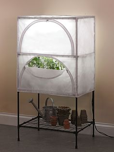Indoor Growing System - T5 Grow Lights with Stand and Cover