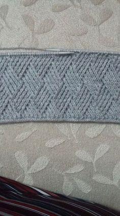 Cross-Knitting Model Making-Videovortrag - DIY Baby Knitting Patterns, Knitting Stiches, Easy Knitting, Knitting For Beginners, Knitting Designs, Stitch Patterns, Crochet Patterns, Diy Crafts Knitting, Diy Crafts Crochet