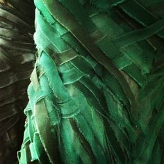 Donna Karan Atelier #Green #Emerald | Learn more about Emerald Green for Interiors at http://www.goeye4design.com