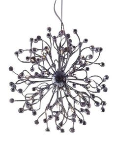 Features 12V chrome crystal ball pendant avail in 48L, 24L, 18L and 12L and 10L CTC  Finishes Chrome  Dimensions 32 Light D: 740 x Suspension H: 1200  Globe 12V 10W G4 (included)  Fiorentino Imports welcomes you.  Since establishment in