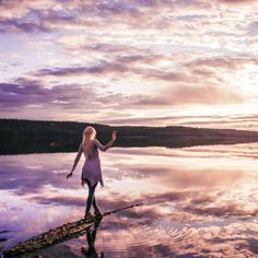 Theres a sunrise and sunset every day. You can choose to be there for it. You can put yourself in the way of beauty. Jonna Jinton, Faceless Portrait, Visit Sweden, The Girl Who, Cool Wallpaper, Mother Earth, Sunrise, Cheryl Strayed, Beautiful Pictures