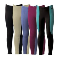Kerrits Kids Performance Riding Tight - Proven for their comfort and durability, Kids Performance Tights are made with an elastic drawcord waistband and Fabrisuede Tactel™ for a super soft and easily adjusted fit.