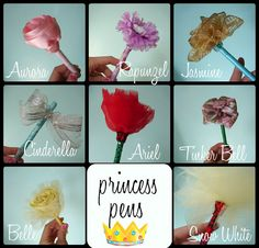 princess pens