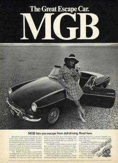 """Mgb Mk Ii """"The Great Escape Car"""" Salt Flats (1968)"""