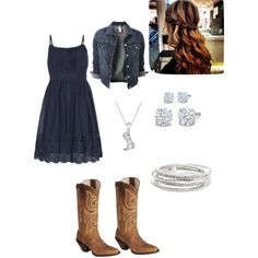 Country outfit / cowgirl / spring outfit / summer outfit / fall outfit