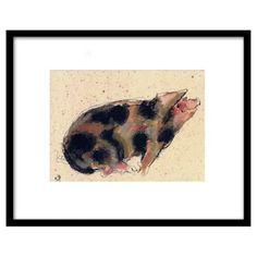 Check out this item at One Kings Lane! Bella Pieroni, Pig II