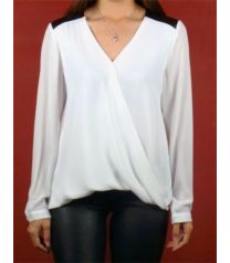 White Cross-Over Shirt White Crosses, Must Haves, Blouse, Long Sleeve, Sleeves, Shirts, Tops, Women, Fashion