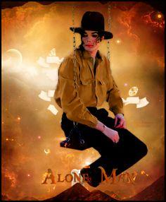 Michael Jackson - Alone Man