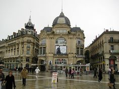 downtown in montpellier france by theseanster93, via Flickr
