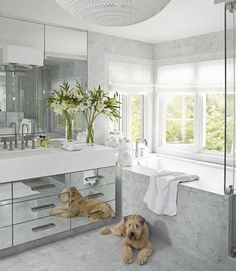 Interesting... Our bathroom could turn into this- we have the exact same layout.