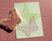 Butterfly Rubber Stamp for Scrapbooking Paper Crafts Cards Hang Tag Embellishments