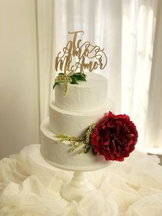 Te Amo Mi Amor Cake Topper. Wedding Cake Topper in Spanish PLEASE NOTE: We want to ensure that your items arrive in time for your special event. Please note the very last day that you can receive the package in the customer notes at checkout* *If you are interested in purchasing
