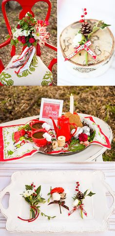 Un mariage de Noël Scandinave