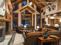 Luxury Home Magazine Arizona #Luxury #Homes #Windows #Wood #Design #Decor #Lodge #Interior