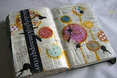 Really nice. Since I like to camouflage my journaling, I could write around the birds and trees.