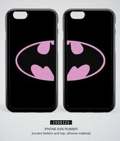 Batman iPhone 7 Case Batman BFF Couple iPhone 6 Plus 5S 5 4S 4 5C SE 7 Plus Rubber Cover Batman Samsung Galaxy S7 Edge S6 S5 S4 Note 3 4 5 by zoobizu from zoobizu. Find it now at http://ift.tt/2eS8rKl!