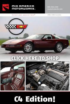 8 Corvette Click N Shop Catalogs Ideas Catalog Cover Corvette Catalog