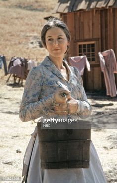 LITTLE HOUSE ON THE PRAIRIE -- Pictured: Karen Grassle as Caroline Quiner Holbrook Ingalls -- Photo by: NBCU Photo Bank