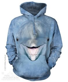 DOLPHIN FACE HOODIE BY THE MOUNTAIN®