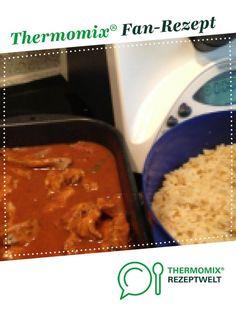 Schaschliktopf mit Reis und feuriger Soße von Birgit89. Ein Thermomix ® Rezept aus der Kategorie Hauptgerichte mit Fleisch auf www.rezeptwelt.de, der Thermomix ® Community.