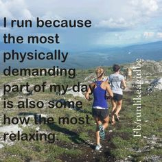 It clears the mind and fuels the soul! #runlikeagirlbc