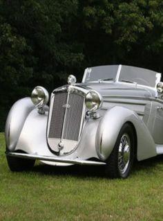 1938 Horch 853 A Erdmann Rossi Sport Cabriolet