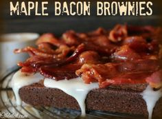 ~Maple Bacon Brownies!
