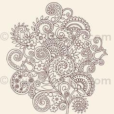 henna doodles by blue67design, via Flickr