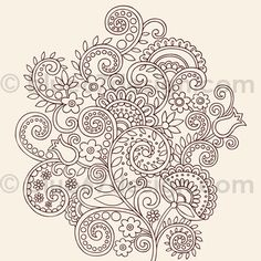 henna doodles by blue67design, via Flickr
