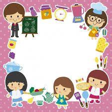 Resultado de imagen para marcos de hojas para niños