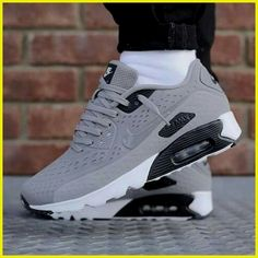 Sneakers Nike, Nike Shoes, Work Sneakers, Air Max Sneakers, Nike Trainers, Sneakers Fashion, Grey Sneakers, Shoe Game, Shoe Boots