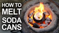 "How to recycle scrap metal in the backyard, with a homemade, Mini Metal Foundry. Get ""The Hobbit"" http://bit.ly/TKOR-FreeAudiobook Note: The contest for the ..."