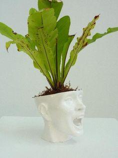MOSHITA — skull planter sobeitstudio