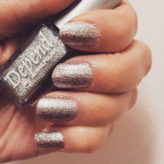 Silver shine  Nail Polish, Nails, Silver, Beauty, Finger Nails, Ongles, Money, Nail, Beauty Illustration