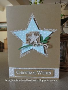 Cards on the table with Vicki: And even MORE Stars!